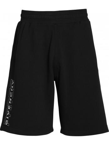 Logo Jersey Shorts - Black