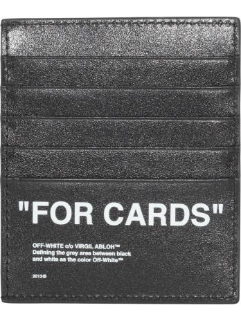 Quote Cardholder - Black