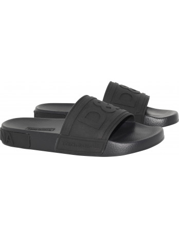 Slidesandalen - Black