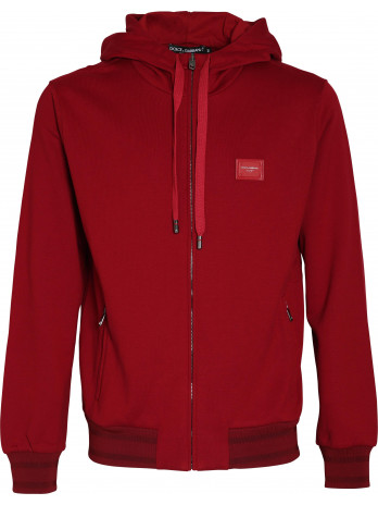 Zipper with Logopatch - Red