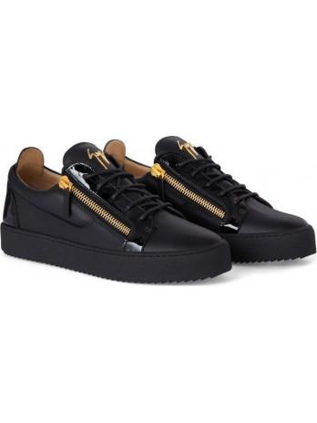 Frankie Sneaker - Black/Gold