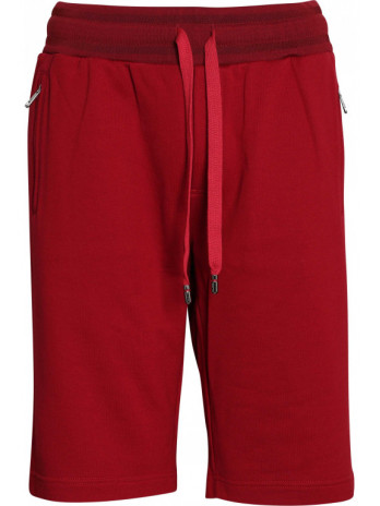 Logoplakette Shorts - Red