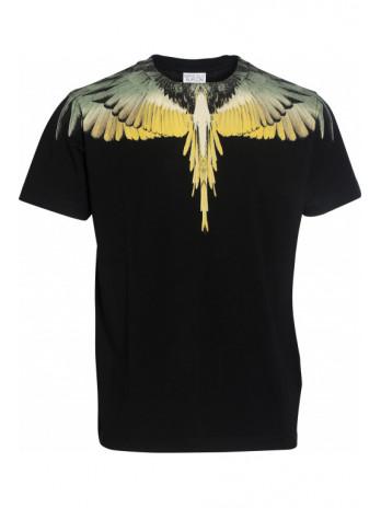 Wings T-Shirt - Black/Yellow
