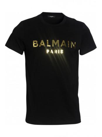 Metallic-Logo T-Shirt -...