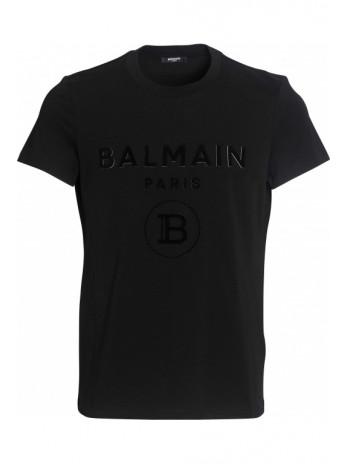 T-Shirt mit Logo - Black/White