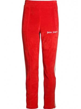 Chenille Track Pants Scarlet