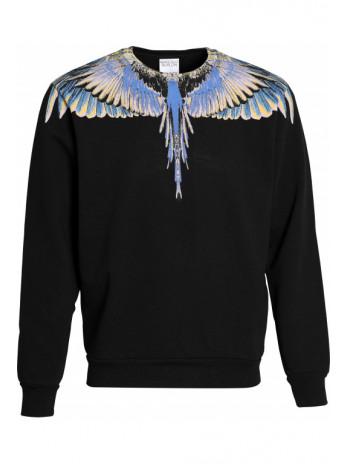 Wing Sweater - Black/Purple