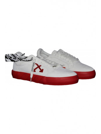 Vulcanized Sneaker - White/Red