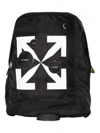 Cut here Easy Backpack - Black