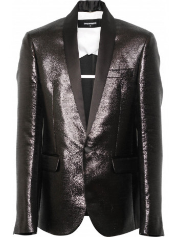 Shiny Blazer - Black