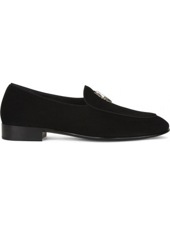 Rudolf Wild Slipper - Black