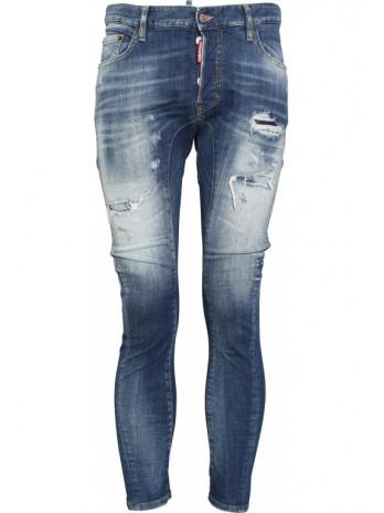 Tidy Biker Jeans - Blue