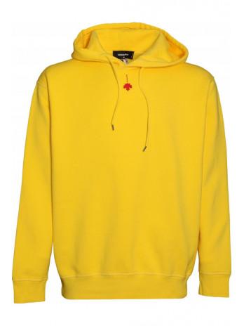 Canadian Flag Hoodie - Yellow