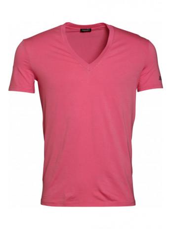 V-Neck T-Shirt - Pink