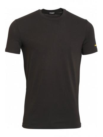 T-Shirt with logoprint - Black