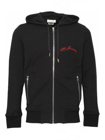 Zipper mit Logo - Black