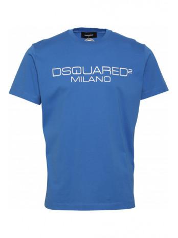 Logodruck T-Shirt - Royalblau