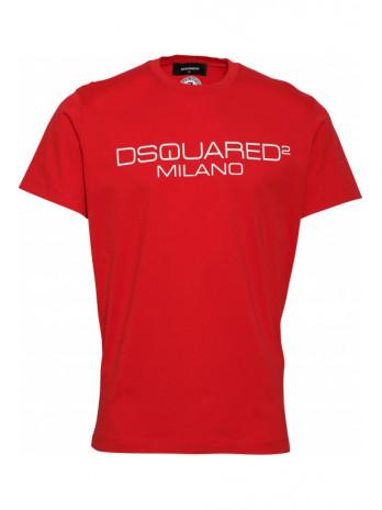 Logodruck T-Shirt - Rot