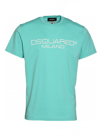 Logodruck T-Shirt - Grün