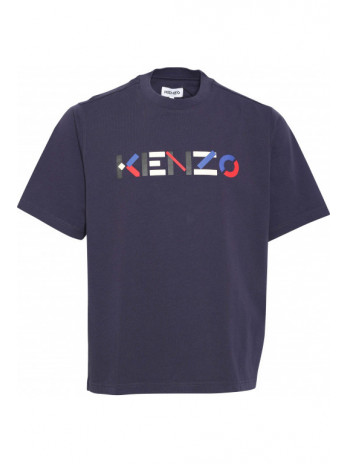 Logoprint T-Shirt - Blue