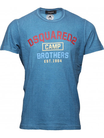 Camp Brothers T-Shirt - Blue