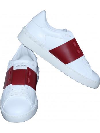VLTN Sneakers - White/Red