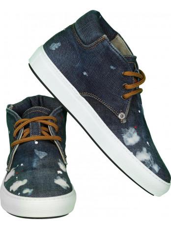 Jeans Sneakers - Blue